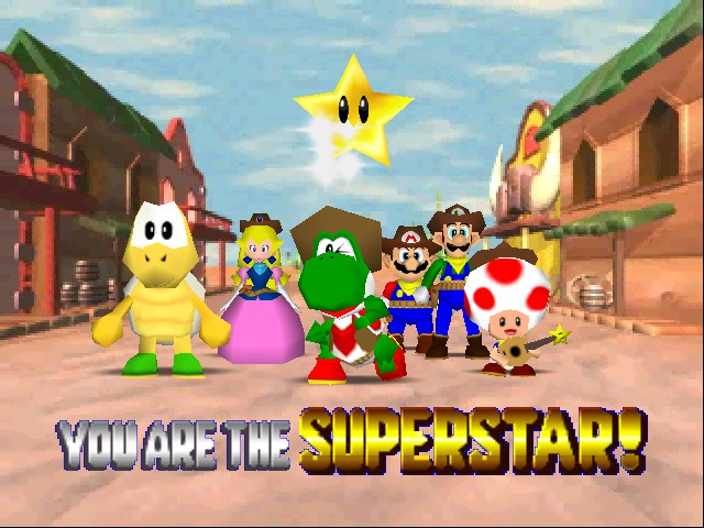 Mario Kart 64 - Mario party 2? whrong game! - User Screenshot
